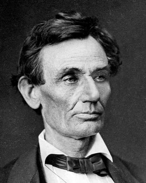 1860 Image of Abraham Lincoln