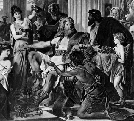 visigoths and athenians History of athens  the blow dealt to the city by the visigoths and their leader alaric in 395-396 was not enough to impede its course as an intellectual centre.