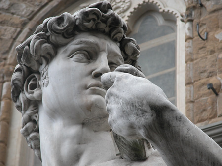 David by Michelangelo Copy