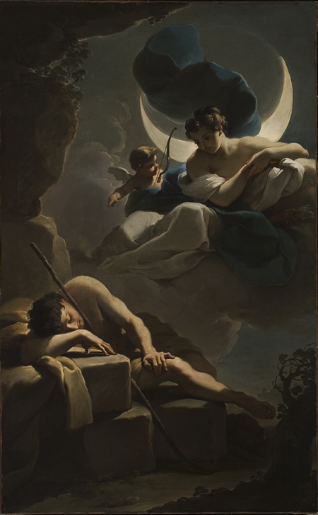 Selene - Goddess of the Moon and Endymion