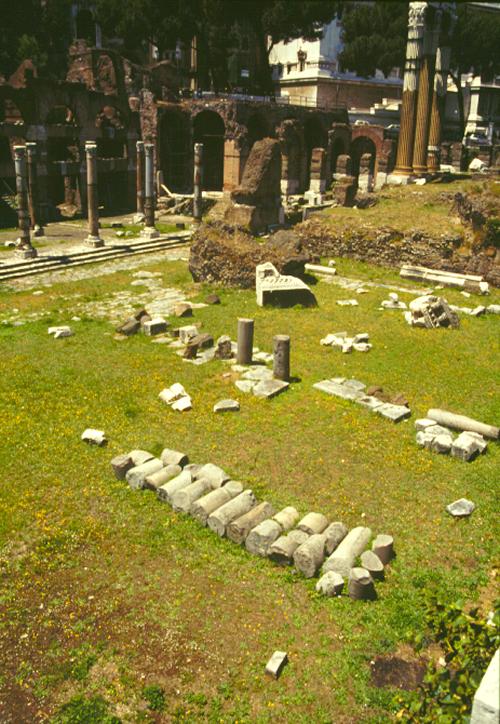 Forum of Julius Caesar Ruins