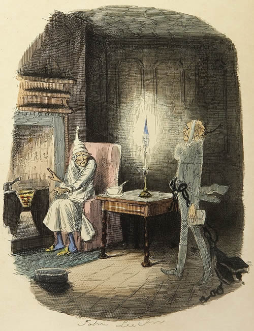 Marley's Ghost from Dickens' The Christmas Carol