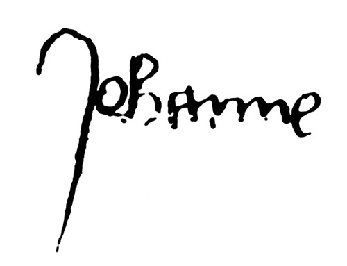 Joan (Jehanne) of Arc's Signature