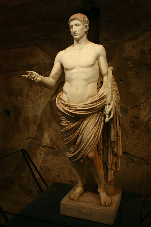 The so-called Britannicus statue