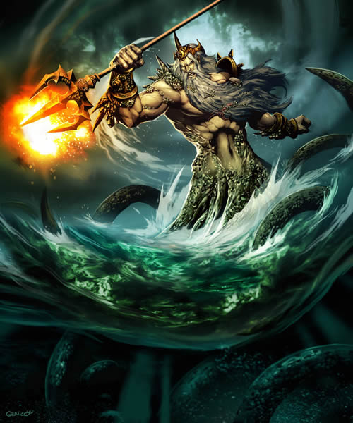 Poseidon - God of the Sea
