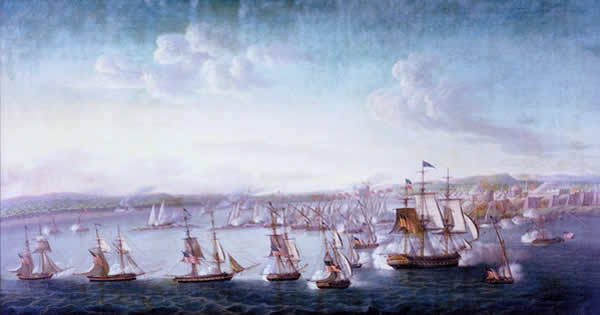 USS Constitution Attack on Tripoli