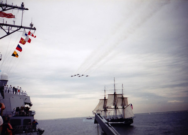 'Old Ironsides' sails for the first time in 116 years