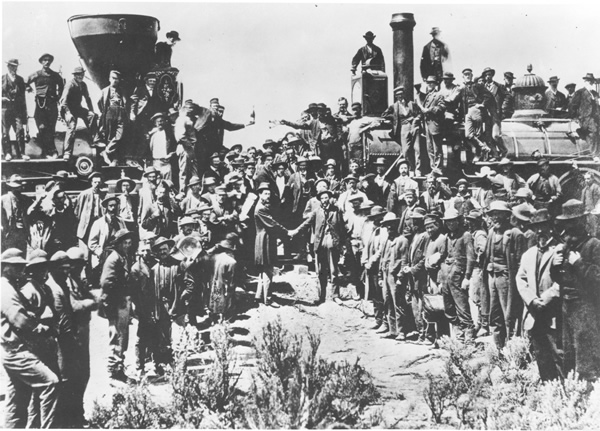 Transcontinental Railroad Complete