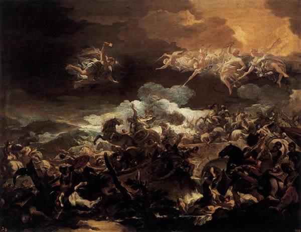 The Defeat of Sisera at the hands of Barak and Deborah
